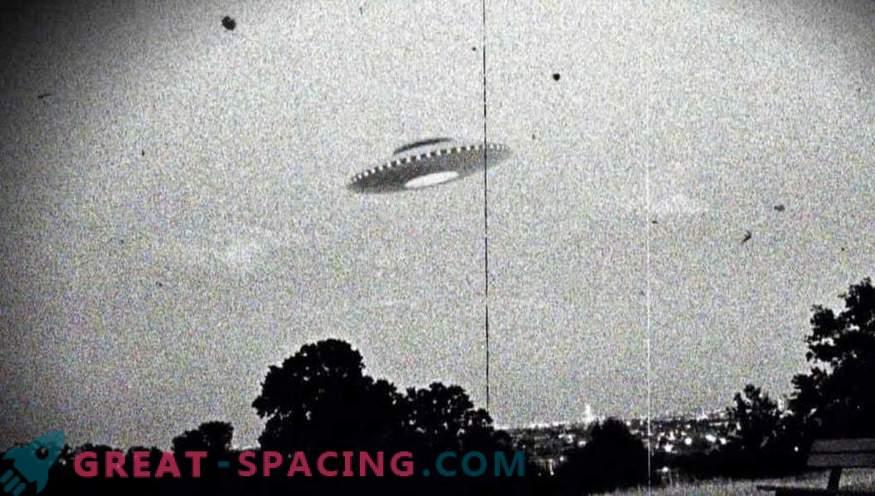 De CIA heeft een aantal documenten over niet-geïdentificeerde vliegende objecten