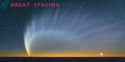 Het verhaal van de komst van een ongewone komeet Shezo met zes staarten