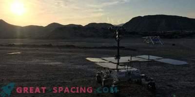 Prototype van de rover voor het ExoMars-programma