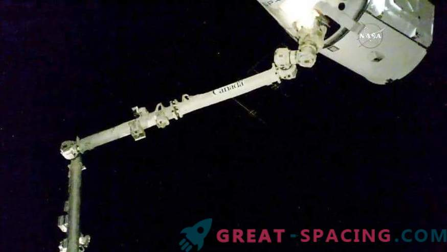 Dragon successfully docked with ISS.