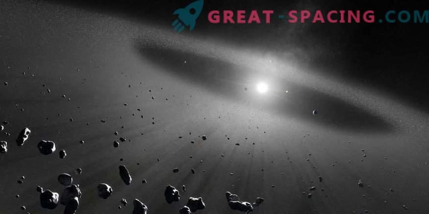 Hoe deeltjes van de Kuipergordel in de stratosfeer van de aarde