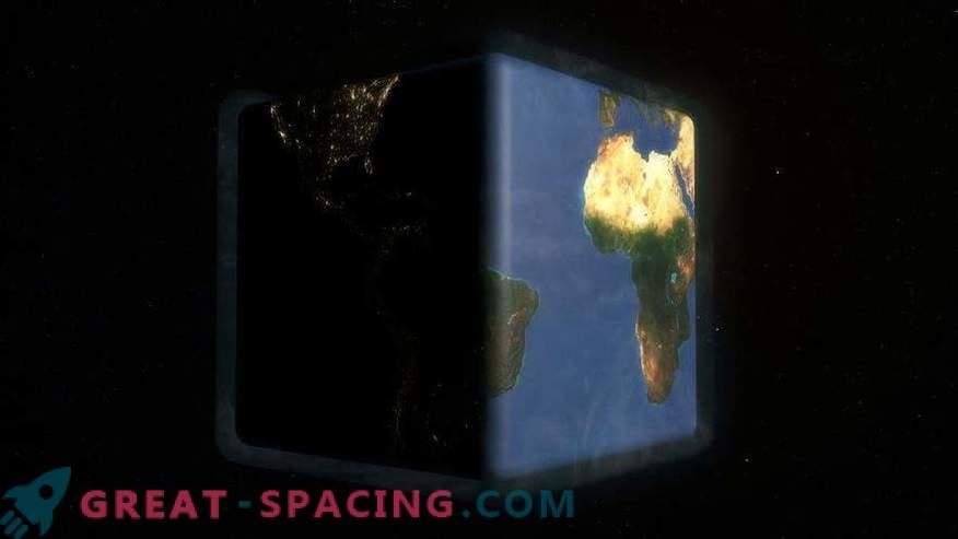 ¿Cómo será la vida en la Tierra como un cubo