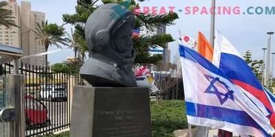 Monument voor Yuri Gagarin opgericht in Israël