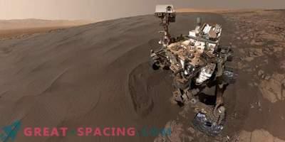 Ongelofelijke beelden van Mars 2016 van Curiosity