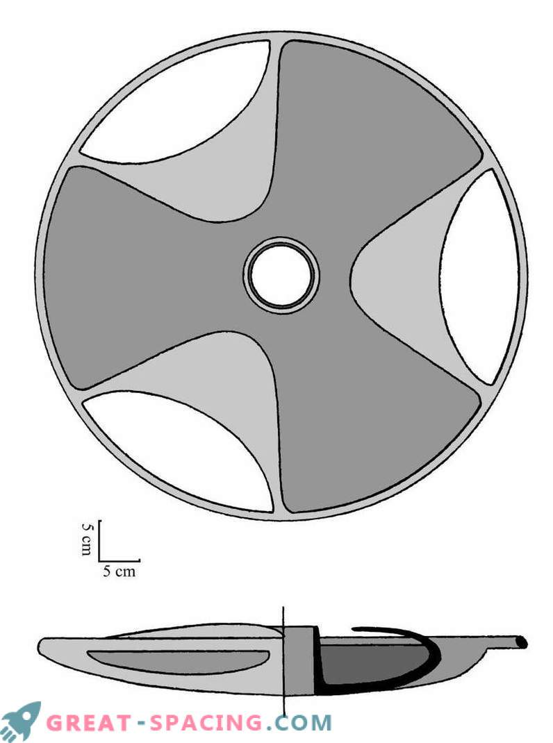 Ufologists believe that the Sabu disk may be an ancient model of a flying saucer