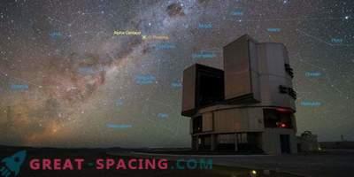 Il telescopio è alla ricerca di mondi alieni nel vicino sistema stellare