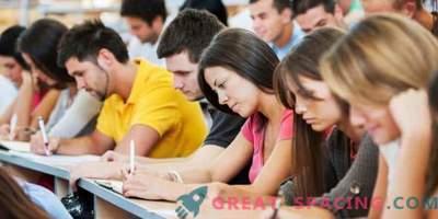 De belangrijkste informatie voor de moderne student