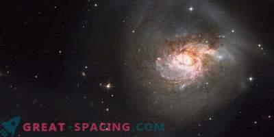 Galactische botsing creëerde een