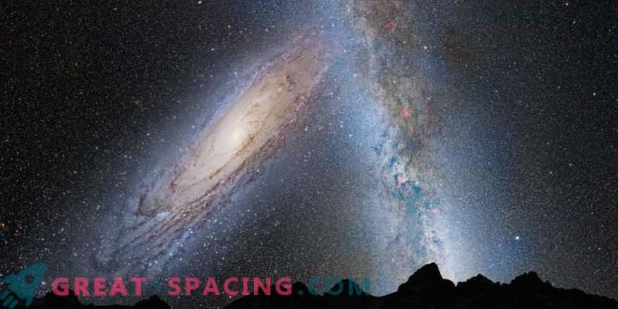 Znanstveniki zdaj vedo točno, kdaj se srečamo z Galaksijo Andromeda