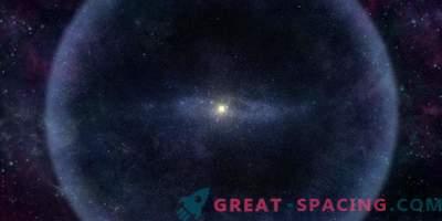 Oort Cloud: foglio di ghiaccio esterno del sistema solare