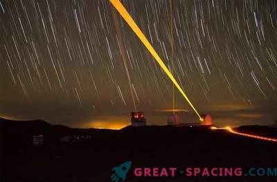 De meest levendige foto's van het Keck-observatorium: begin