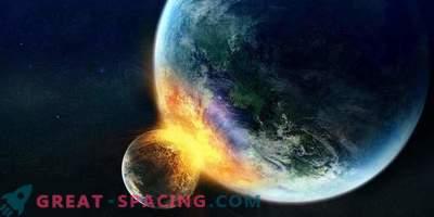 Cosa succede se la luna colpisce la terra