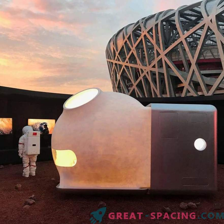 Cozy mini-houses for Mars explorers