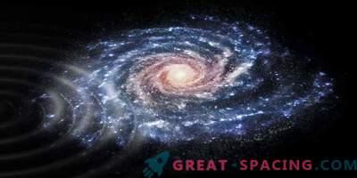 Milky Way-sterovervallers: verdachte activiteit op de galactische schijf