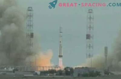Russische protonenraket mislukt tijdens lancering van de satelliet