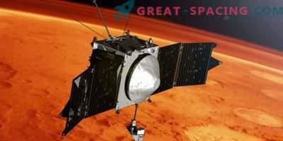 MAVEN viert 4 jaar in een Marsbaan