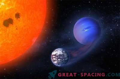 Can a red dwarf transform mini Neptune into exo-earth?