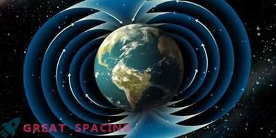 Wetenschappers moesten de kaart van het aardmagneetveld in de wereld