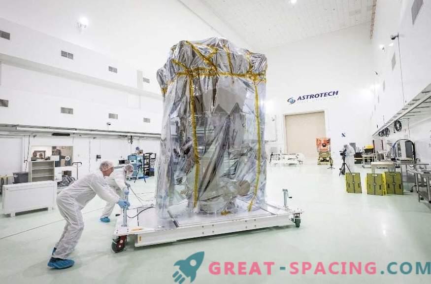 Die Sonnenmission der NASA ist in Florida angekommen