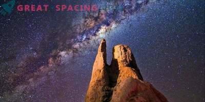 Keskmine must auk meie galaktikakeskuse lähedal