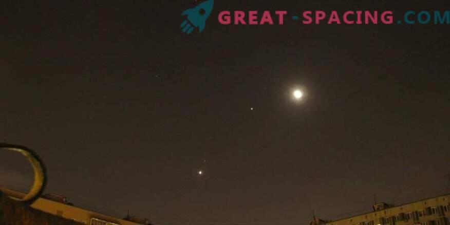 Welke hemellichamen kunnen worden waargenomen op 15 april 2019