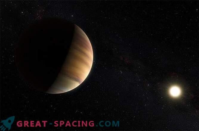 Exoplanet voor het eerst ontdekt als gevolg van het